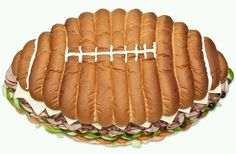 Now this would a great football party food!!