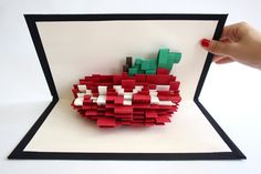 Pop-Up NYC by Daisy Lew, via Behance