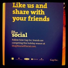 Being social :)