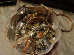 antique stuff and Jewelry