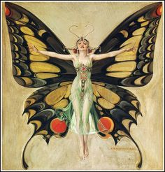 F. X. Leyendecker : The Flapper 1922