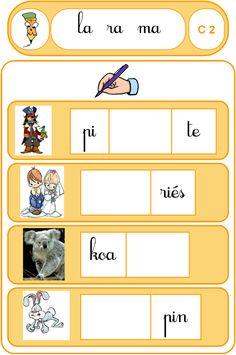 Écrire des syllabes