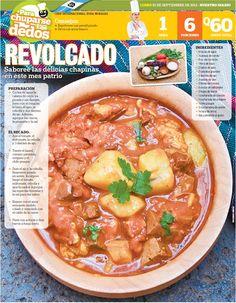 Cocinas y Recetas: Revolcado