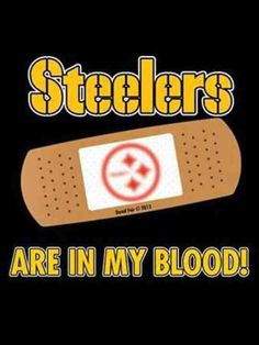 Pittsburgh Steelers~in my blood.
