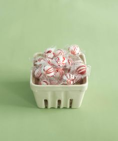 I have these containers! I'm going to get some mints and do this.