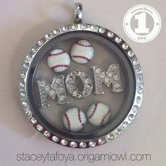 sports mom, necklac