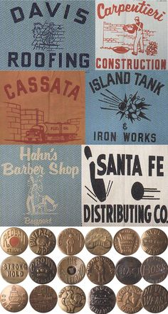Mens Collections: Vintage American Workwear Graphics 2