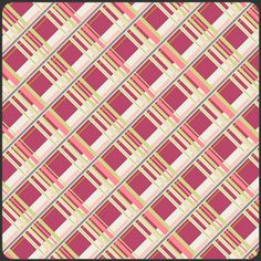 Plaid Passion in Cherry, Patricia Bravo, part of the Coquette collection