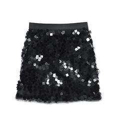 Joe Fresh Women's Square Pailette Skirt -  Fierce!