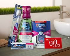 #GIVEAWAY: Win a $75 Walgreens GC & Crest Prize Pack (Ends 10/13)