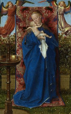 Jan van Eyck, Madonna am Brunnen / Madonna at the Fountain