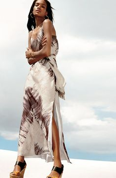 Vince Camuto Tie Dye Maxi Dress   Nordstrom