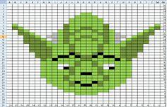 Penny-wise Knitting: Inartsia Star War Charts --- chart patterns