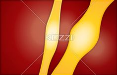 yellow and red abstract - Yellow abstract isolated on red and vertical image