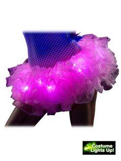 Pink Light Up Tutu | Sexy Tutus Halloween Costumes babi pink, lights, tutu skirts, halloween idea, pink light, halloween costumes, halloween havoc