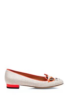 Kitty Flats by Charlotte Olympia Now Available on Moda Operandi