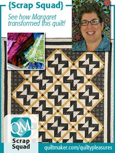 QM Scrap Squad: Summer Love by Margaret Kennedy. http://www.quiltmaker.com/blogs/quiltypleasures/2014/02/qm-scrap-squad-summer-love-by-margaret-kennedy/