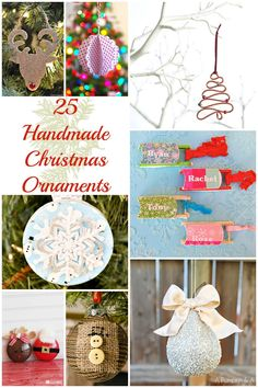 25 Handmade Ornament