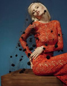 Wear Color — spinningbirdkick: Richard Bush / Vogue Russia...