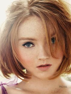 uk june, lili cole, lily cole, short hairstyles, glamour uk, short haircut, june 2012, beauti, chris craymer
