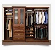 Closets by design master bedroom ideas pinterest for Penderie sur mesure