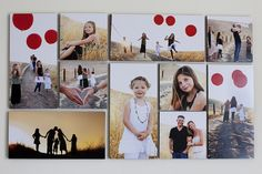 amazing way to display images by  melinda kim photography
