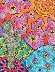 The Lonely Cactus by Liquid-Mushroom.deviantart.com on @deviantART