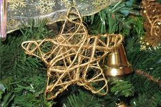 Rustic star ornament in about 15 minutes