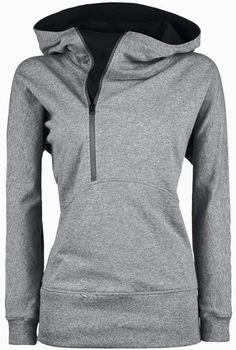 Comfy Grey Side Zip Hoodie