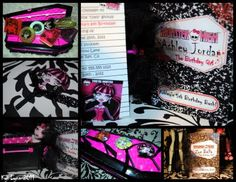 high idea, birthday parti, parties, high parti, monsters, parti idea, monster high party