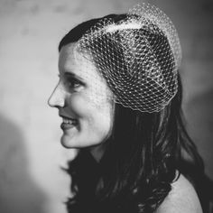 Learn how to make this classic and beautiful DIY birdcage veil with little more than a rectangle of netting and a hair comb.
