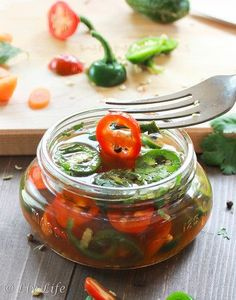 Pickled Jalapeños - who knew it was so easy to pickle these little beauties??? #jalapenos #diy @livlifetoo
