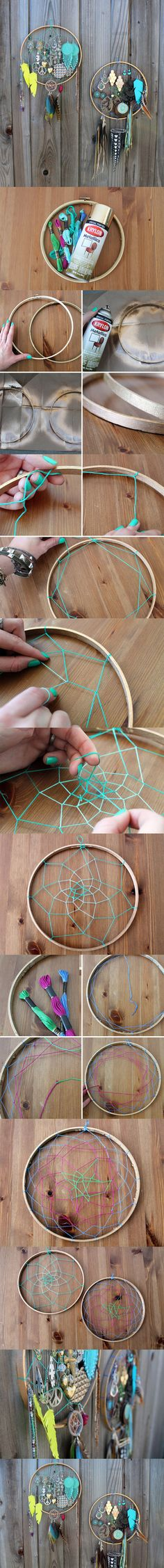 dreamcatcher diy - Love this!