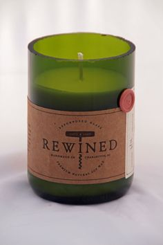 Merlot Soy Wax Candle - LOVE THESE