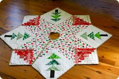 ~ Square on Square Tree Skirt ~ Near top of my list....