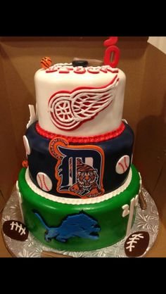 Pure Michigan cake