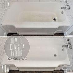 DIY bathtub refinishing
