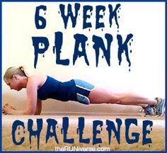 6 week challenge, planks, challenges, week plank, plank challengedo, before workout breakfast, plank loos