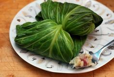 Corned Beef Stuffed Cabbage