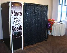 These are becoming extremely popular, so I'm hoping that no one steals this idea before I get a chance to use it.  Photo Booths for parties, wedding receptions, Sweet 16, etc...  Genius!!