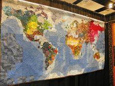 Diane Lovitt  California- I have GOT to make a quilt like this!