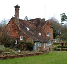 The A. A. Milne house in East Sussex, England - the House at Pooh Corner. So charming!