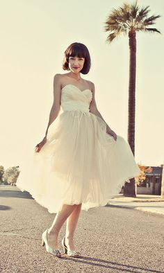 Glitter Gold Sweetheart Strapless Tulle Dress -  Hollywood Heather