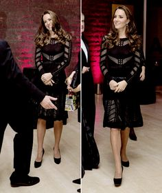 Catherine, Duchess of Cambridge attends the Action on Addiction Autumn Gala Evening at L'Anima   October 23, 2014