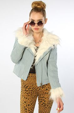 58% off!?!?!  I really don't need anymore jackets but WOW! The Denim Sherpa by UNIF.