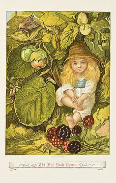 """Eleanor Vere Boyle - illustration from """"The Story Without an End"""""""