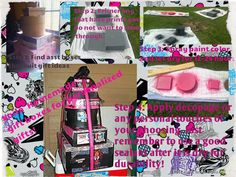 How to make personalized boxes for themed occasions. This one was monster high but you can do any theme you'd like. Especially great for little girls where you can stash dress up clothes!!