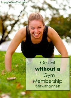 Get Fit Without A Gym Membership - #Health #Fitness