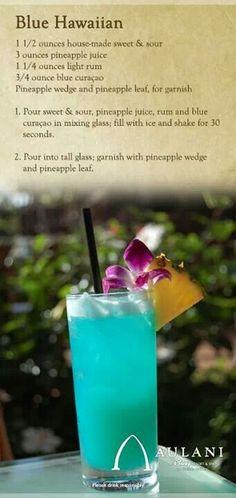 Aulani's Blue Hawaiian
