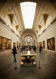 Museo El Prado--The Prado Museum in Madrid is one of the best art museums in the world. You can spend days there - We managed a few hours. It was magnificent!